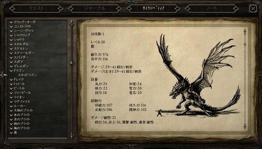 Pillars of Eternity_伝説集のスカイドラゴン.jpg
